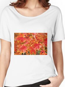 Autumn Leaves Women's Relaxed Fit T-Shirt