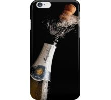 Celebration Theme With Splashing Champagne iPhone Case/Skin