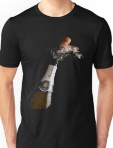 Celebration Theme With Splashing Champagne Unisex T-Shirt