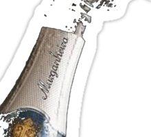 Celebration Theme With Splashing Champagne Sticker