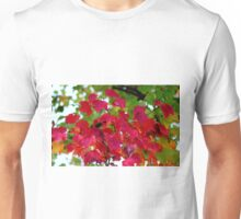 Red Leaves Unisex T-Shirt