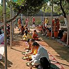 Lunch at the Ashram 2 by Harry Oldmeadow