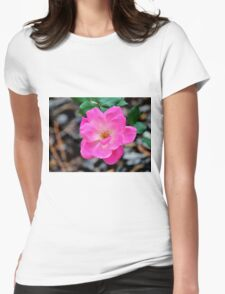 Pink Beauty Womens Fitted T-Shirt