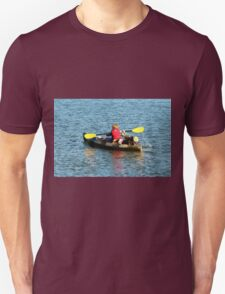 A Boy And His Canoe  Unisex T-Shirt