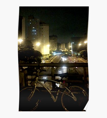 night bikers #1 Poster