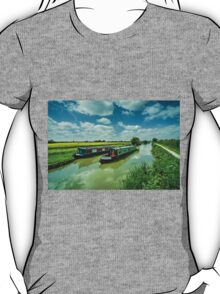 Narrowboats on the K and A  T-Shirt