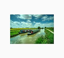 Narrowboats on the K and A  Unisex T-Shirt