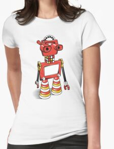 ViewBot 3000 Womens Fitted T-Shirt