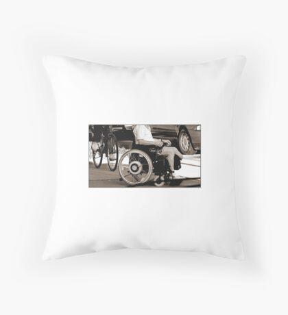 Wheels of Life II Throw Pillow
