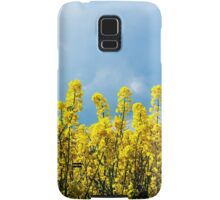 Yellow and Blue Samsung Galaxy Case/Skin