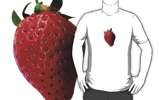 Strawberry by Carl Eyre