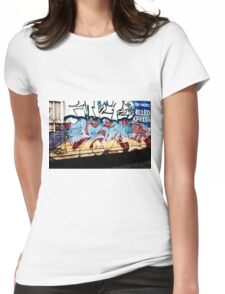 Chilled Express. Womens Fitted T-Shirt