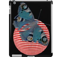 butterfly and ball  iPad Case/Skin