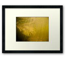 Sunken Framed Print