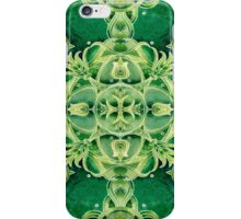 - Green ornament - iPhone Case/Skin