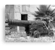 Old Cannon Canvas Print