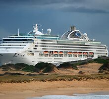 Sun Princess - Newcastle NSW by Bev Woodman