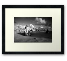 The Pinnacles Desert, Western Australia Framed Print