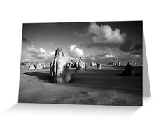The Pinnacles Desert, Western Australia Greeting Card