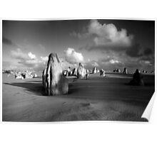 The Pinnacles Desert, Western Australia Poster