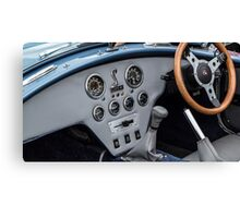 Shelby 427 Dashboard Canvas Print