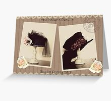 Mad Hatter Hats Greeting Card