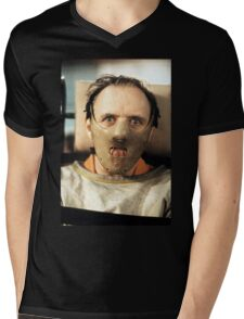 Hannibal Lecter Mens V-Neck T-Shirt
