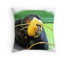 """ Banged up with nothing to do"" Throw Pillow"