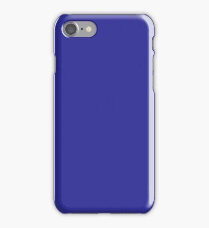 Beautiful Cushions/ Plain Blue (pigment) iPhone Case/Skin