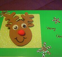 Handmade cards - peg/reindeer by anaisnais