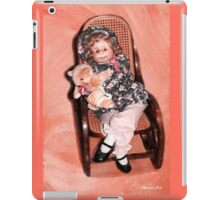 Handmade Doll in an Antique Rocker iPad Case/Skin
