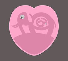 Pregnant Elephant | Heart by piedaydesigns