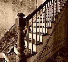 Risky Climb by Joel Hall