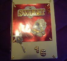 Handmade card - sweet 16 by anaisnais