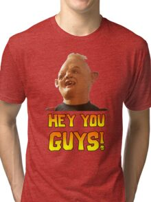 SLOTH - HEY YOU GUYS! Tri-blend T-Shirt