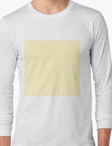 Beautiful Cushions/ Plain Blond Long Sleeve T-Shirt