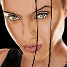 Angelina Jolie by Sundar Singh