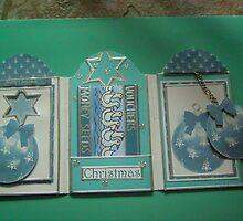 Tri fold handmade card by anaisnais