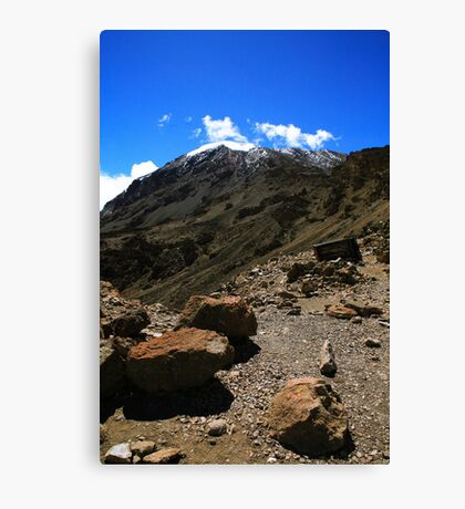 Mount Kilimanjaro Canvas Print