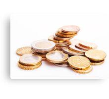 coins Canvas Print