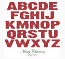 Christmas Alphabet by freefallvertigo