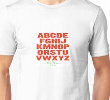 Christmas Alphabet Unisex T-Shirt