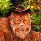 Bigfoot Cowboy by Larry Trupp