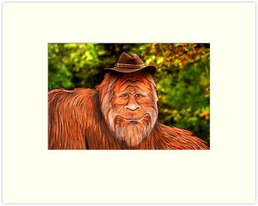 Bigfoot Cowboy by Larry Trupp