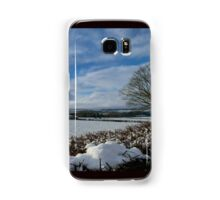 White Winter , Blue Winter Samsung Galaxy Case/Skin