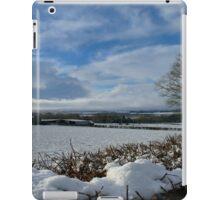 White Winter , Blue Winter iPad Case/Skin