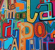 funky street art by Janis Read-Walters