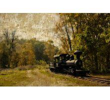 Locomotive At CAMA Photographic Print