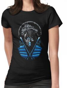 Mortal Kombat - Sub Zero Womens Fitted T-Shirt