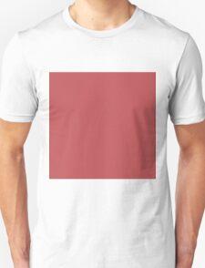 Beautiful Cushions/ Plain Bittersweet shimmer Unisex T-Shirt